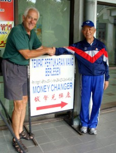 Mr. Goh, MOney Changer Philosophor