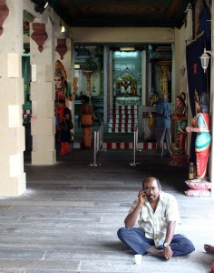 Hindu Temple, Cell Call